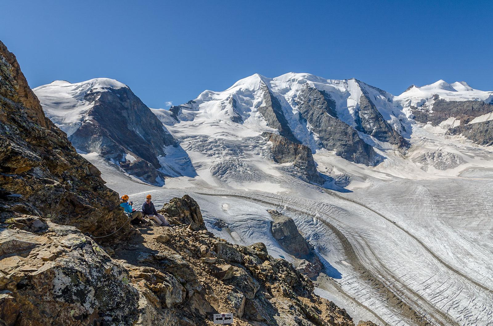 Piz Trovat Klettersteig 2012